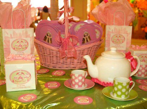 SparTea The Pink Door Day Spa For Girls
