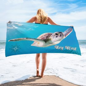 "Key West Beach Towel  30""x60"""