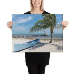"Island Beach Canvas 24"" x 18"" x 1.5"""