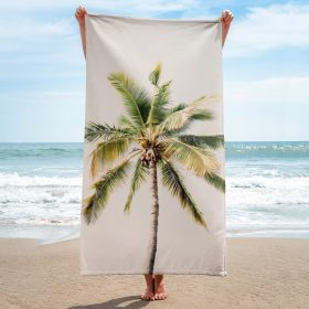 Island Palm Beach Towel